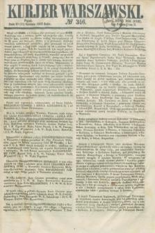 Kurjer Warszawski. 1858, № 346 (31 grudnia) + dod.