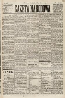 Gazeta Narodowa. 1888, nr156