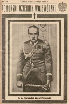 Pomorski Dziennik Wojewódzki. 1935, nr10