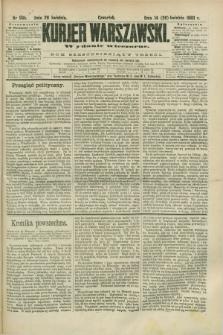 Kurjer Warszawski. R.63, nr 99b (26 kwietnia 1883) - wydanie wieczorne