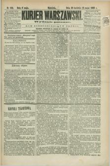 Kurjer Warszawski. R.63, nr 109a (6 maja 1883) - wydanie poranne