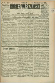 Kurjer Warszawski. R.63, nr 110b (7 maja 1883) - wydanie wieczorne