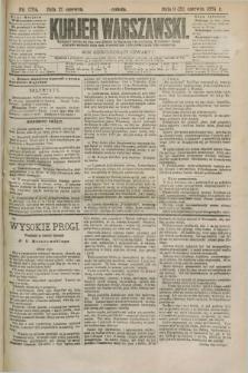 Kurjer Warszawski. R.64, nr 170a (21 czerwca 1884)