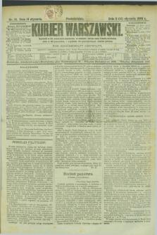 Kurjer Warszawski. R.69, nr 14 (14 stycznia 1889)