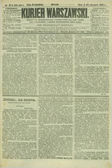 Kurjer Warszawski. R.69, nr 15 (15 stycznia 1889)