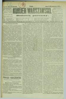 Kurjer Warszawski : dodatek poranny. R.69, nr 18 (18 stycznia 1889)