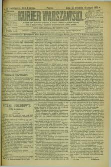 Kurjer Warszawski. R.69, nr 39 (8 lutego 1889)
