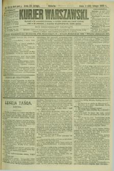 Kurjer Warszawski. R.69, nr 54 (23 lutego 1889)