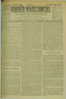 Kurjer Warszawski. R.69, nr 59 (28 lutego 1889)
