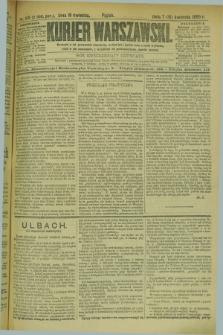 Kurjer Warszawski. R.69, nr 109 (19 kwietnia 1889)