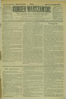 Kurjer Warszawski. R.69, nr 110 (20 kwietnia 1889)