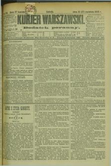 Kurjer Warszawski : dodatek poranny. R.69, nr 115 (27 kwietnia 1889)