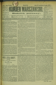 Kurjer Warszawski : dodatek poranny. R.69, nr 120 (2 maja 1889)
