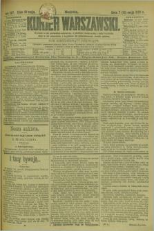 Kurjer Warszawski. R.69, nr 137 (19 maja 1889)