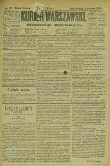 Kurjer Warszawski : dodatek poranny. R.69, nr 153 (4 czerwca 1889)