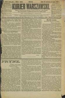 Kurjer Warszawski. R.69, nr 180 (2 lipca 1889)