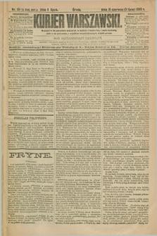 Kurjer Warszawski. R.69, nr 181 (3 lipca 1889)