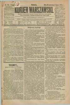 Kurjer Warszawski. R.69, nr 185 (7 lipca 1889)