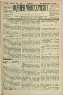 Kurjer Warszawski. R.69, nr 189 (11 lipca 1889)