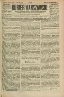 Kurjer Warszawski. R.69, nr 204 (26 lipca 1889)