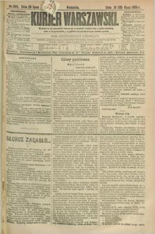 Kurjer Warszawski. R.69, nr 206 (28 lipca 1889)