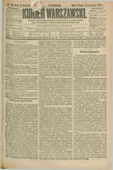 Kurjer Warszawski. R.69, nr 221 (12 sierpnia 1889)