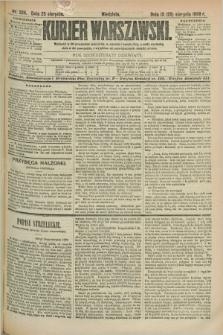 Kurjer Warszawski. R.69, nr 234 (25 sierpnia 1889)