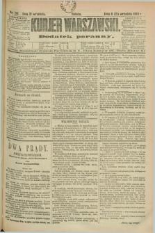 Kurjer Warszawski : dodatek poranny. R.69, nr 261 (21 września 1889)