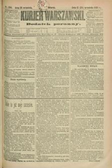 Kurjer Warszawski : dodatek poranny. R.69, nr 264 (24 września 1889)