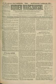 Kurjer Warszawski. R.69, nr 281 (11 października 1889)