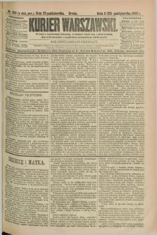 Kurjer Warszawski. R.69, nr 293 (23 października 1889)