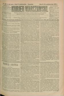 Kurjer Warszawski. R.69, nr 294 (24 października 1889)