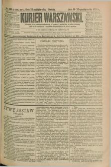 Kurjer Warszawski. R.69, nr 296 (26 października 1889)