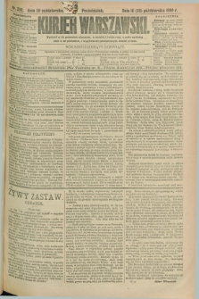 Kurjer Warszawski. R.69, nr 298 (28 października 1889)