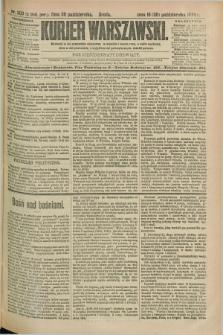 Kurjer Warszawski. R.69, nr 300 (30 października 1889)