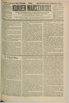 Kurjer Warszawski. R.69, nr 307 (6 listopada 1889)