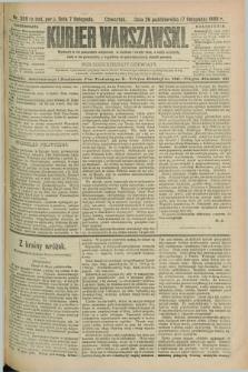 Kurjer Warszawski. R.69, nr 308 (7 listopada 1889)