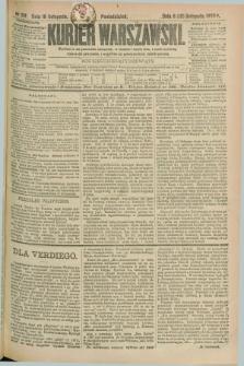Kurjer Warszawski. R.69, nr 319 (18 listopada 1889)