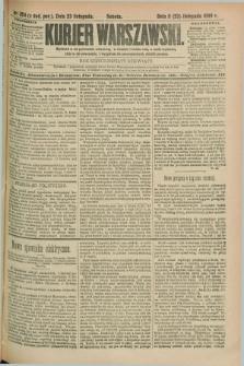 Kurjer Warszawski. R.69, nr 324 (23 listopada 1889)