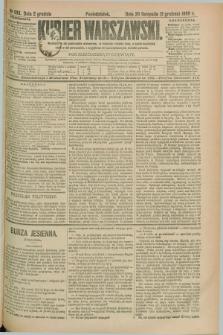 Kurjer Warszawski. R.69, nr 333 (2 grudnia 1889)