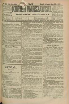 Kurjer Warszawski : dodatek poranny. R.69, nr 334 (3 grudnia 1889)