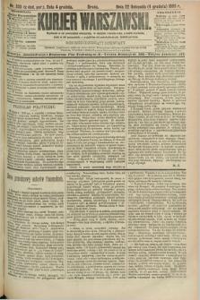 Kurjer Warszawski. R.69, nr 335 (4 grudnia 1889)