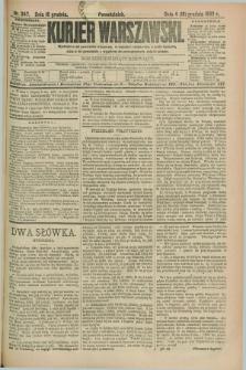 Kurjer Warszawski. R.69, nr 347 (16 grudnia 1889)