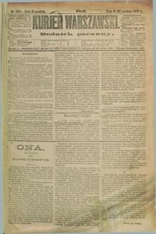 Kurjer Warszawski : dodatek poranny. R.69, nr 360 (31 grudnia 1889)