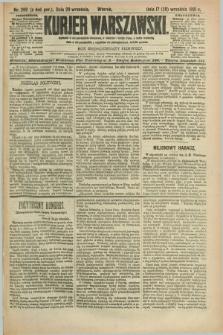 Kurjer Warszawski. R.71, nr 269 (29 września 1891)