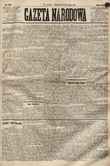 Gazeta Narodowa. 1891, nr52