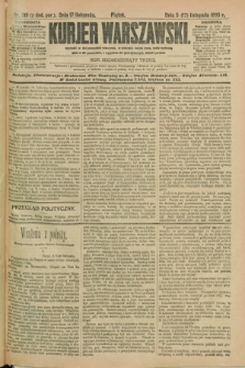 Kurjer Warszawski. R.73, nr 318 (17 listopada 1893)