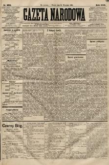 Gazeta Narodowa. 1891, nr233