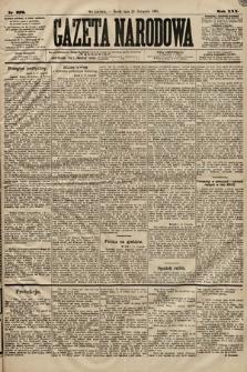 Gazeta Narodowa. 1891, nr276