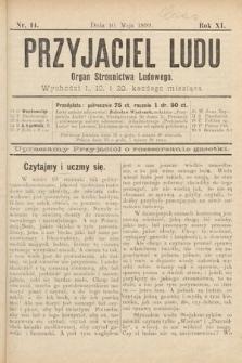 Przyjaciel Ludu : organ Stronnictwa Ludowego. 1899, nr14